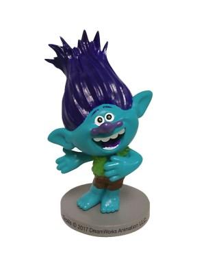 Figurine 3D en pvc de Branche des Trolls