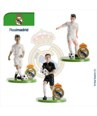 Figurine 3D en pvc du REAL MADRID set/3