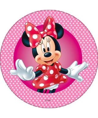 Disque Azyme Minnie heureuse Disney