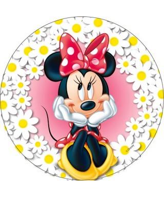 Disque Azyme Minnie et ses marguerites Disney