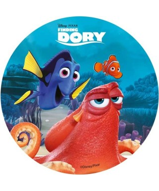 Disque azyme Dory, Némo et Hank Disney