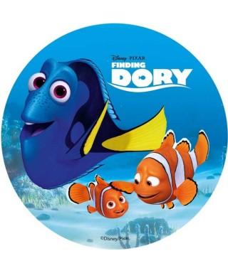 Disque azyme Dory, Némo et Marin Disney