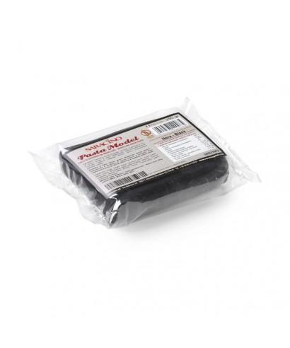 Pâte à sucre modelage Noir 250g Saracino