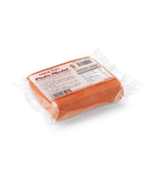 Pâte à sucre modelage Orange 250g Saracino