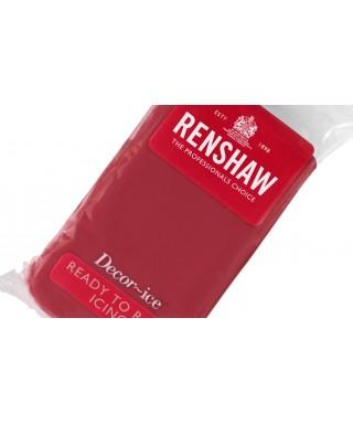 Pâte à sucre Rouge Rubis 250g Renshaw Régalice