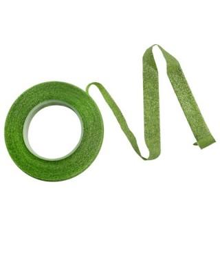 Ruban floral Vert paillette PME