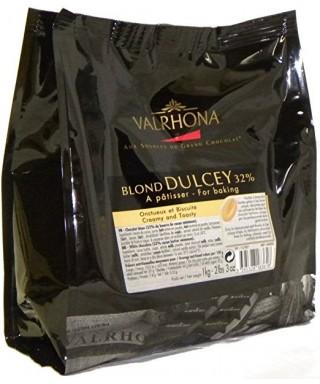 Dulcey 32% chocolat blond de couverture 1Kg
